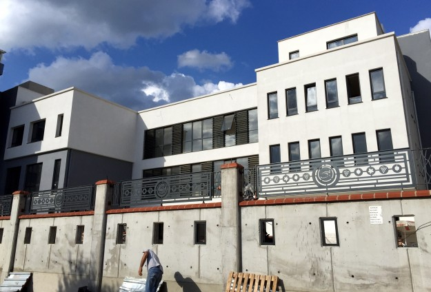 The new Armenian school in Bakirkoy, Istanbul, is set to open on September 28 to 500 students (Source: Anadolu Agency)