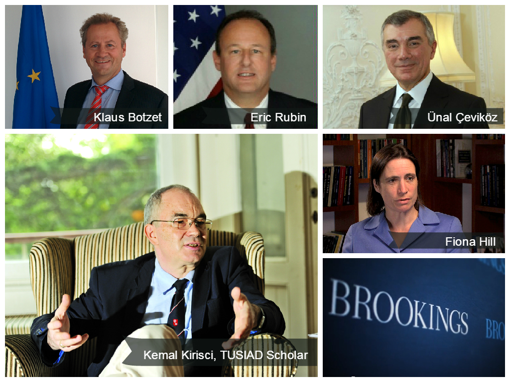 """Moderators and speakers at Brookings event titled """"Considerations and Constraints for U.S., EU, and Turkish Engagement in the South Caucasus"""""""