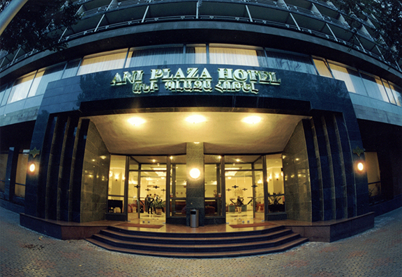 The Ani Plaza Hotel in Yerevan is the first hotel in Armenia to participate in the certificate program