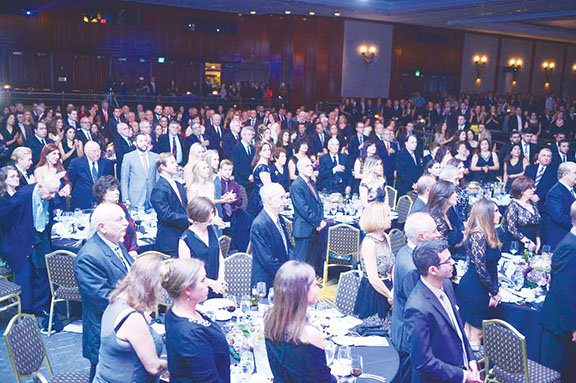 A segment of the more than 1,400-strong crowd that attended the ANCA-WR Gala