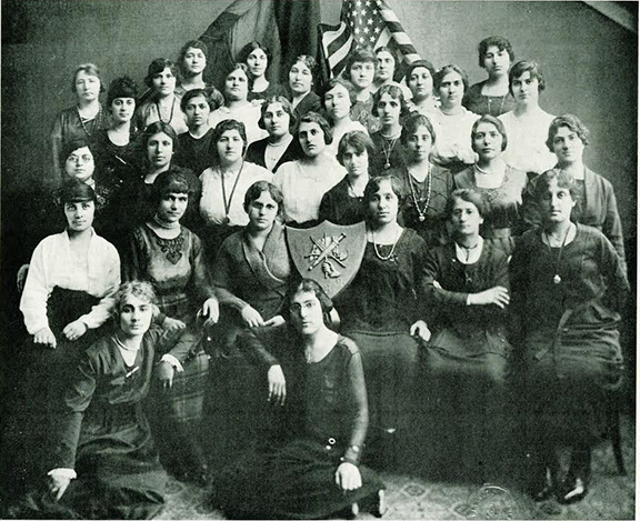 At the ARF Red Cross' (as ARS was known at the time) Regional Convention in 1920 in Boston