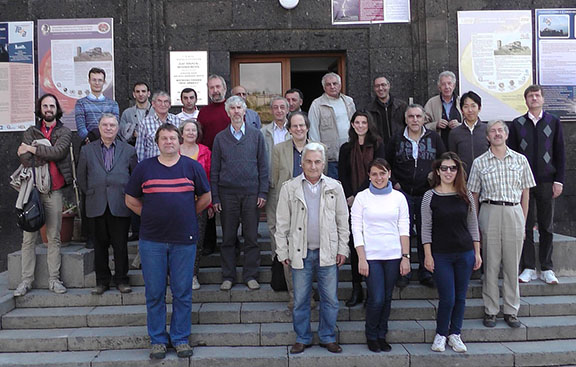 Some of the participants at the TEPA 2015 conference in front of CRD's Nor Ambert research station