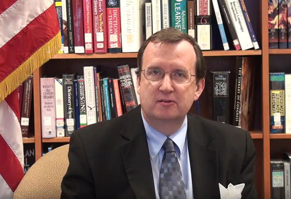 U.S. Ambassador to Armenia Richard Mills discusses the USATF and TIFA in YouTube video posted on the U.S. Embassy's official channel (Source: U.S. Embassy in Armenia YouTube)