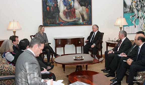 U.S. State Department officials meet with Minister of Foreign Affairs Edward Nalbandian in Yerevan (Source: Ministry of Foreign Affairs)