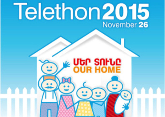 """This year's Armenia Fund Telethon to promote """"Our Home"""" campaign"""