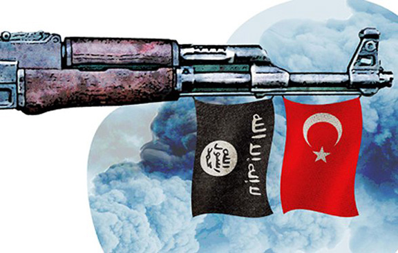 Turkey and ISIS connection