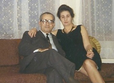 Minas and Kohar Tölölyan, the 20th century Armenian literary critic and his wife, after whom the prize is named