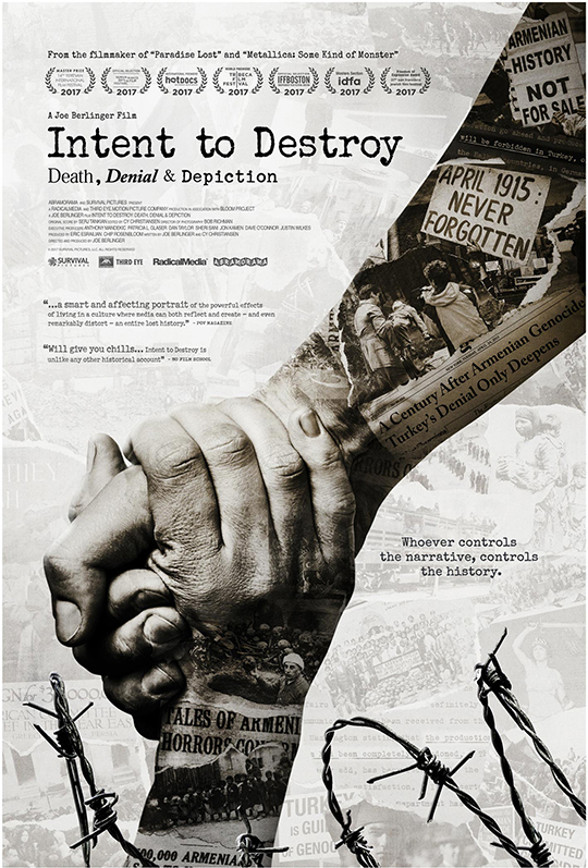 """Poster for """"Intent to Destroy"""""""