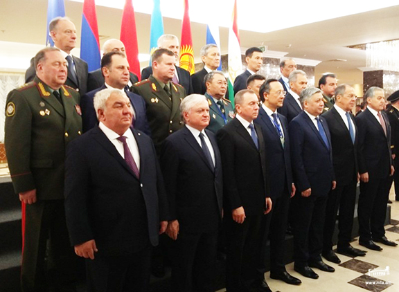CSTO Foreign and Defense ministers