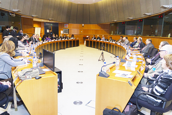 Debate on Nagorno Karabakh hosted at the European Parliament on February 27