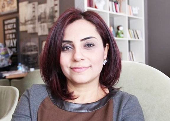 Selina Dogan, an Armenian member of the Turkish Parliament representing the Republican People's Party (CHP)