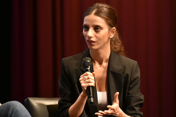 """Angela Sarafyan discusses her roles in """"The Promise"""" and """"1915,"""" which detailed the Armenian Genocide. (Photo by Todd Cheney/UCLA)"""