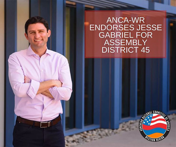 Jesse Gabriel is running for California State Assembly in the 45th district