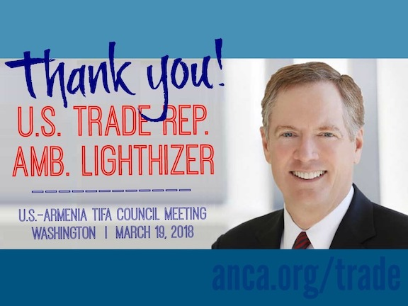 ANCA welcomes march 19 TIFA council meeting in Washington