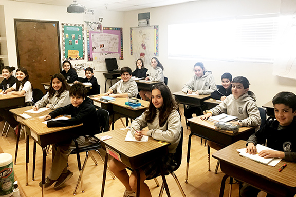 Students from the Ari Guiragos Minassian School writing to Secretary Tillerson calling for a Millennium Challenge Corporation grant to strengthen STEM education in Armenia