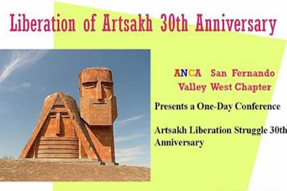 A conference on Saturday will mark the 30th anniversary of the Artsakh movement