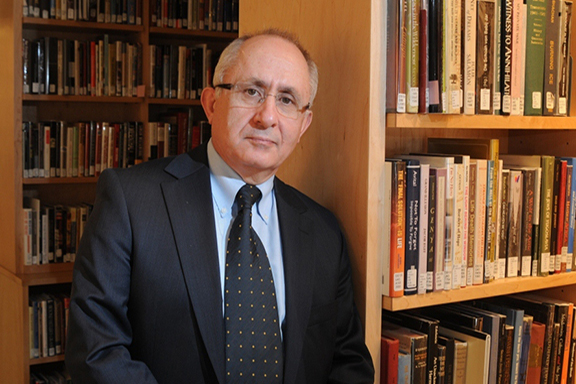 """Turkish historian Taner Akcam, author of """"Forced Islamization of Armenians: Silence, Denial and Assimilation."""""""