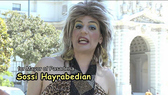 Sossi Hayrabedian, the foul-mouthed hairdresser from Pasadena is a character developed by Lory Tatoulian