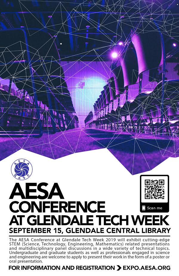 The AESA Conference at Glendale Tech Week 2019 will take place at Glendale's Central Library