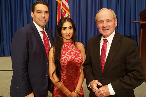 Upon her return to Boise, ANCA Idaho Chairwoman Liyah Babayan continued her conversation about the Armenian Genocide Resolution and Artsakh security with Senate Foreign Relations Committee Chair James Risch (R-ID) and Legislative Director Christopher Socha