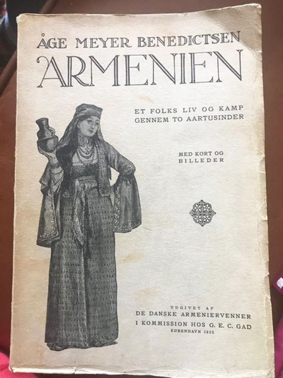 The book written by Benedictsen about Armenians, published in 1925