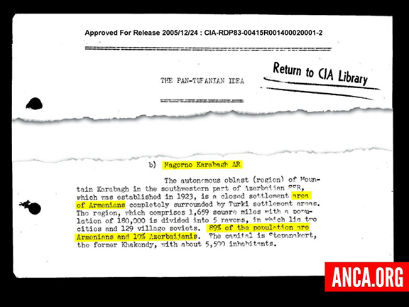 A page from the de-classified CIA report