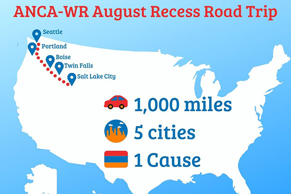 ANCA-WR Completes a Community Road Trip through the American Northwest
