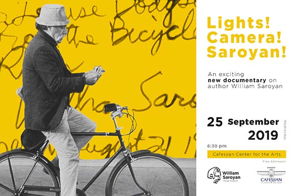 """Scenes from the Yerevan premiere of """"Lights! Camera! Saroyan!"""""""