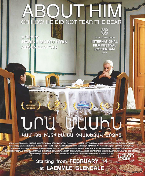 """Nariné Mkrtchyan and Arsen Azatyan's """"About Him or How He Did Not Fear the Bear"""""""