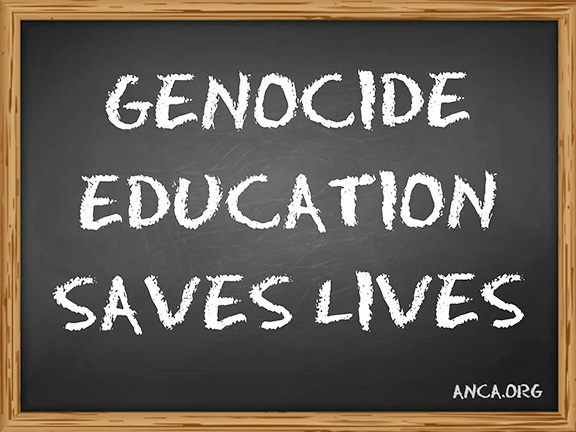 The ANCA is exploring  administrative and legislative avenues to secure federal funding for public education regarding the Armenian Genocide