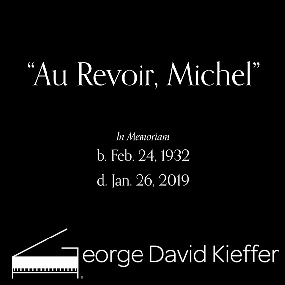 """George David Kieffer's """"Au Revoir Michel"""" is now available for purchase"""