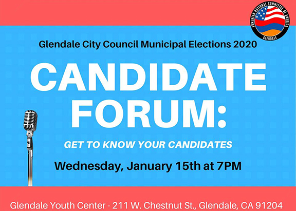 """""""Community Candidate Forum: Get To Know Your Candidates"""" will be held on Jan. 15 at 7 p.m."""