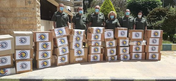 In early May, the Armenian mission delivered medical supplies to an Aleppo hospital