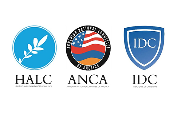In Defense of Christians, Hellenic American Leadership Council and Armenian National Committee of America