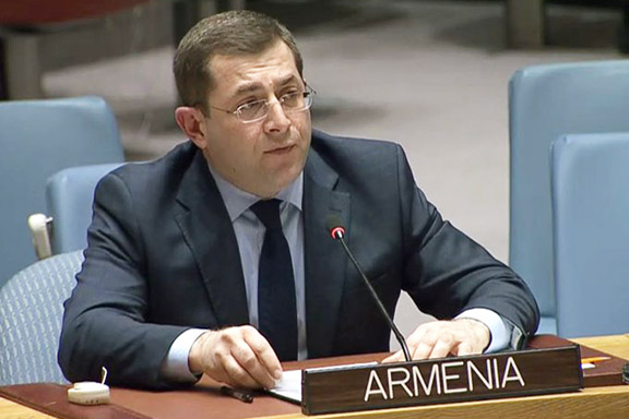 Permanent Representative to the United Nations Mher Margaryan