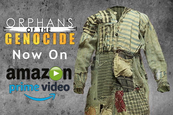 """Bared Maronian's """"Orphans of the Genocide"""" is streaming on Amazon Prime"""