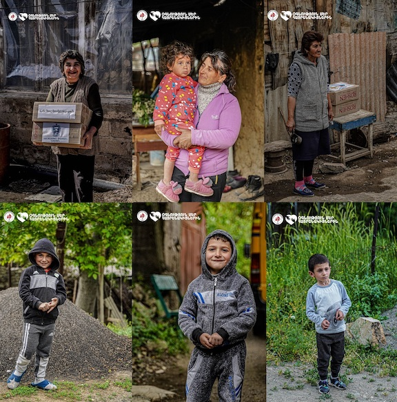 Armenia's border villagers were thankful to receive assistance during COVID-19 pandemic