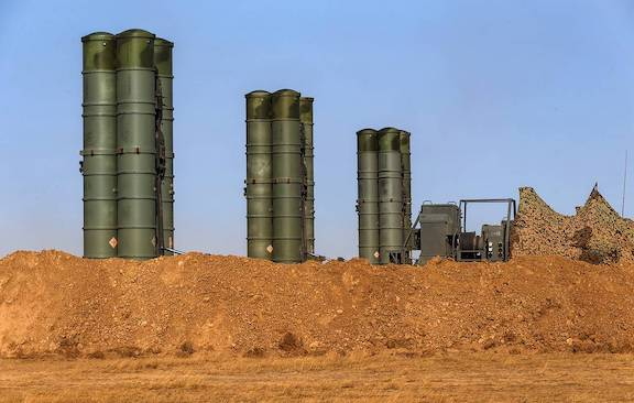 Russia sold its S-400 Defense System to Turkey