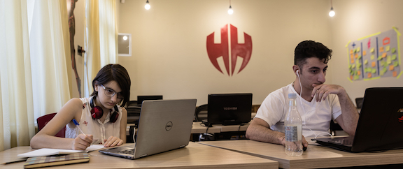 Hero House co-workers