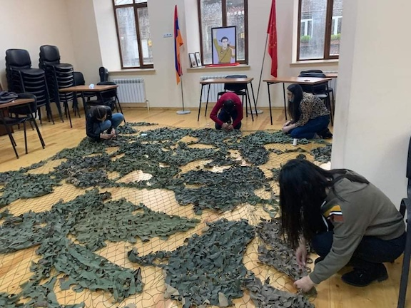 VIEW GALLERY: The Shirvanian Center in Gyumri becomes a hub for assistance to Artsakh