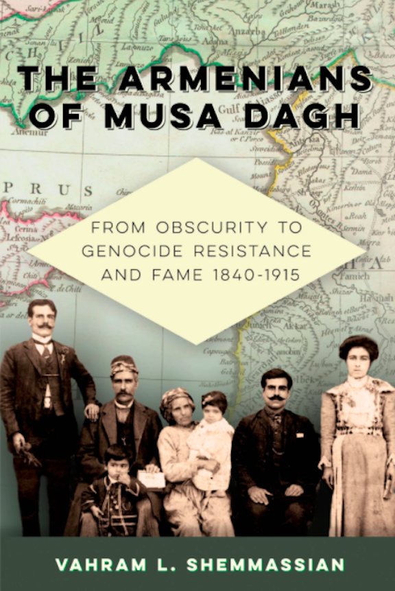 Book cover for Musa Dagh: From Obscurity to Genocide Resistance and Fame 1840-1915