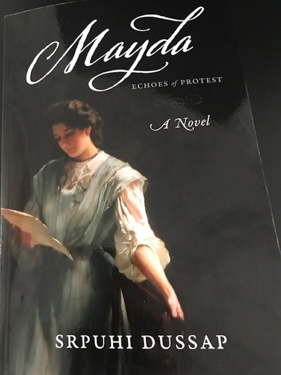 """Srpuhi Dussap's """"Mayda"""" book cover"""