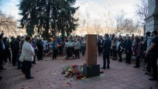Armenian Genocide Commemoration at the Colorado State Capitol Armenian Genocide Memorial Garden (Photo by by Mher Ginosyan)