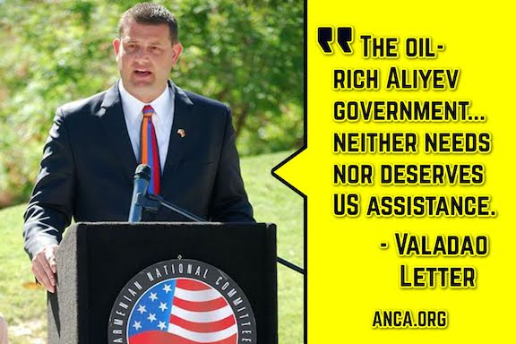 Rep. David Valadao spearheaded a letter calling on the Biden Administration to stop assistance to Azerbaijan