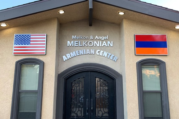 """View Gallery: Scenes from the fundraising event that raised $100,000 to close the mortgage of the """"Melkon and Angel Melkonian Youth Center"""" (above) in Granda Hills"""
