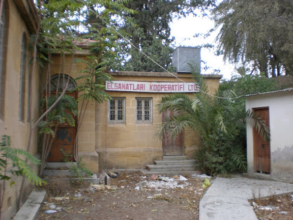 Remnants of an Armenian Evangelical Church in Cyprus