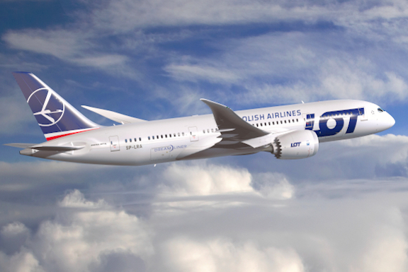 LOT Polish Airlines has officially resumed flights from Los Angeles to Yerevan